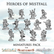 Mistfall: Heroes of Mistfall Miniatures Pack - EN
