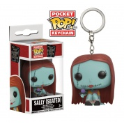 Funko Pocket POP! Keychain Disney - Nightmare Before Christmas SALLY Seated Variant Vinyl Figure 4cm