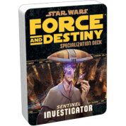 FFG - Star Wars RPG: Force and Destiny - Investigator Specialization Deck - EN