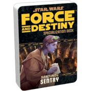 FFG - Star Wars RPG: Force and Destiny - Sentry Specialization Deck - EN