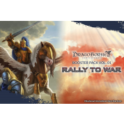 Dragoborne: Rise to Supremacy - Rally to War Booster Display (20 Packs) - EN