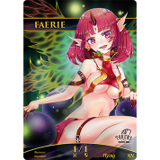 Tokens for MTG - Faerie Token (ver.2) 1/1 (10 pcs)