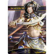 Tokens for MTG - Warrior Token (ver.2) 1/1 (10 pcs)