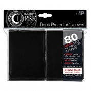 UP - Standard Sleeves - PRO-Matte Eclipse - Black (80 Sleeves)