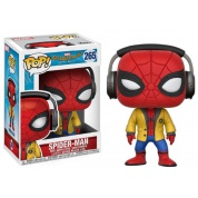 Funko POP! Movies Spider-Man Homecoming - Spider-Man With Headphones Vinyl Figure 10cm
