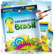 Panini Sticker - WM Brazil 2014 - Stickeralbum - DE