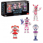 Funko Games - Five Nights at Freddy's: Sister Location - 4-Pack #1 Vinyl Figure 5cm