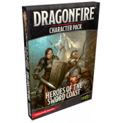 D&D: Dragonfire Heroes of the Sword Coast - Character Pack 1 - EN