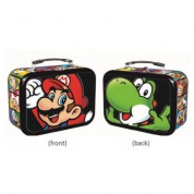 Super Mario - Mario & Yoshi Tin w/ Handle (Slightly damaged)