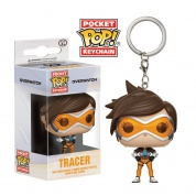 Funko Pocket POP! Keychain Overwatch - Tracer Vinyl Figure 4cm