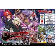 Cardfight!! Vanguard G - Demonic Advent - Booster Display (16 Packs) - EN