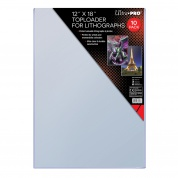 "UP - 12"" x 18"" Toploader for Lithographs (10 Pieces)"