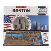 4D Cityscape - Boston