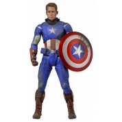 The Avengers - Captain America Battle Damaged 1/4 Scale Action Figure 18-inch