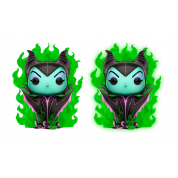Funko POP! Disney - Maleficent In Green Flame w/ Glow Chase Vinyl Figure 10cm Assortment (5+1 chase figure)