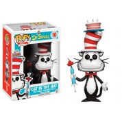 Funko POP! Books Dr. Seuss - Cat In The Hat with Umbrella Vinyl Figure 10cm limited