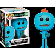 Funko POP! Animation - Rick and Morty Mr. Meeseeks with Meeseks Box Vinyl Figure 10cm limited