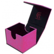 Legion - Deckbox - Hoard V2 Dragon Hide Pink