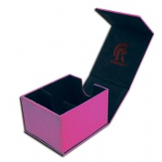 Legion - Deckbox - Hoard Plus Dragon Hide Pink