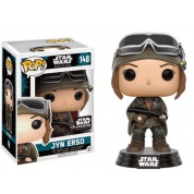Funko POP! Star Wars Rogue One - Jyn Erso in Mountain Gear Exclusive Vinyl Figure 10cm limited