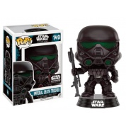 Funko POP! Star Wars Rogue One - Imperial Death Trooper with Blaster Exclusive Vinyl Figure 10cm limited