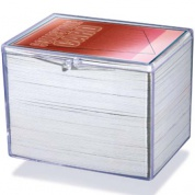 UP - Hinged Clear Box - (For 150 Cards)
