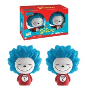 Funko Vinyl Sugar Dorbz Dr. Seuss - Thing 1 & Thing 2 Flocked Collectible Figure 8cm 2-Pack limited