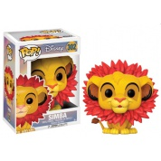 Funko POP! Disney The Lion King - Simba Leaf Mane Vinyl Figure 10cm