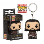 Funko Pocket POP! Keychain - Jon Snow New Variant Vinyl Figure 4cm