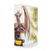 Dragon Shield Slipcase Binder - White art Dragon