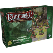 FFG - RuneWars: The Miniatures Game - Latari Elves Infantry Command Unit Upgrade Expansion - EN