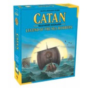 Catan: Legend of the Sea Robbers Expansion - EN