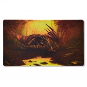 Dragon Shield Play Mat - Umber 'Teranha' (Limited Edition)