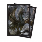 UP - Deck Protector Sleeves - Dragoborne v2 (65 Sleeves)