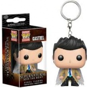Funko Pocket POP! Keychain - Supernatural CASTIEL w/ Wings Vinyl Figure 4cm