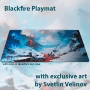 Blackfire Playmat – Svetlin Velinov Edition - Mountain