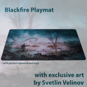 Blackfire Playmat – Svetlin Velinov Edition - Swamp