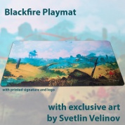 Blackfire Playmat – Svetlin Velinov Edition - Plains