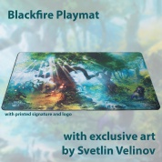 Blackfire Playmat - Svetlin Velinov Edition Forest - Ultrafine 2mm
