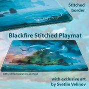 Blackfire Stitched Playmat - Svetlin Velinov Edition Island - Ultrafine 2mm