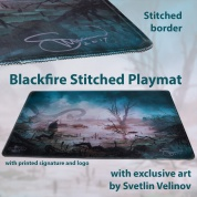 Blackfire Stitched Playmat - Svetlin Velinov Edition Swamp - Ultrafine 2mm