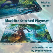 Blackfire Stitched Playmat - Svetlin Velinov Edition Forest - Ultrafine 2mm
