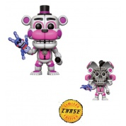 Funko POP! Five Nights At Freddy's Nightmare: Sister Location - Funtime Freddy Action Figure 10cm Assortment (5+1 chase figure)