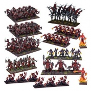 Kings of War - Forces of the Abyss Mega Army (Re-package & Re-spec) - EN