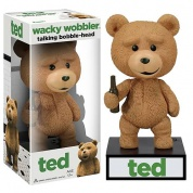 Funko - Ted The Movie - Ted the Teddy Bear - Talking Wacky Wobbler Figure 6-inch