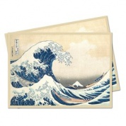 UP - Sleeves Standard - Fine Art - The Great Wave Off Kanagawa (65 Sleeves)