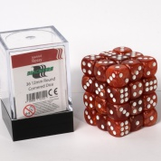 Blackfire Dice Cube – 12mm D6 36 Dice Set – Marbled Rossy