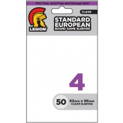 Legion - Board Game Sleeve 4 - European (50 Sleeves)