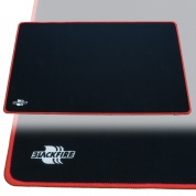 Blackfire Playmat – Black with Red Stitching
