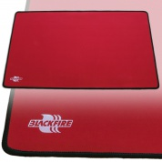 Blackfire Playmat – Red with Black Stitching